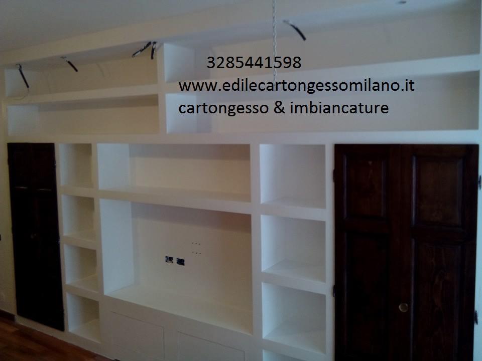 Parete Di Cartongesso Prezzo. Amazing Cartongesso Soggiorno Prezzo With Parete Di Cartongesso ...
