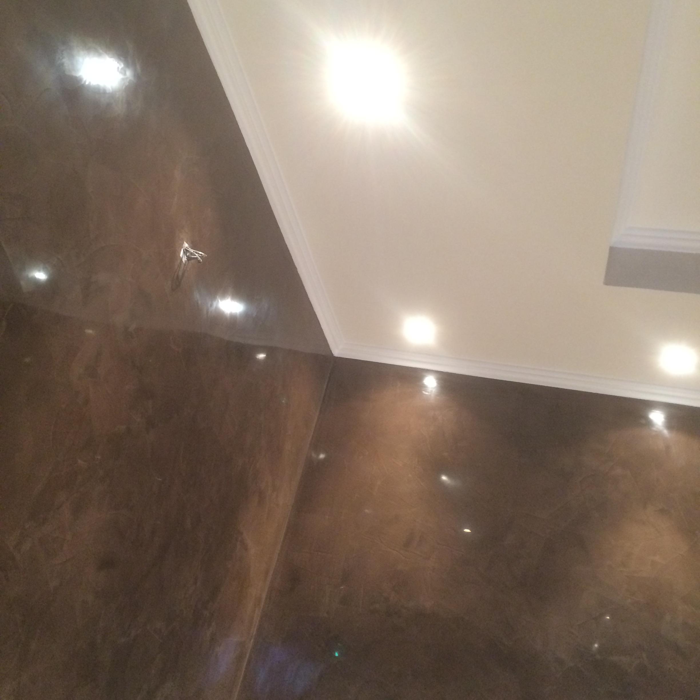 Stucco soffitto bagno progetto di soffitto in stucco veneziano cerato con stucco veneziano - Stucco veneziano bagno ...